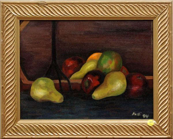 4001: Painting, Holli, Still Life with Fruit
