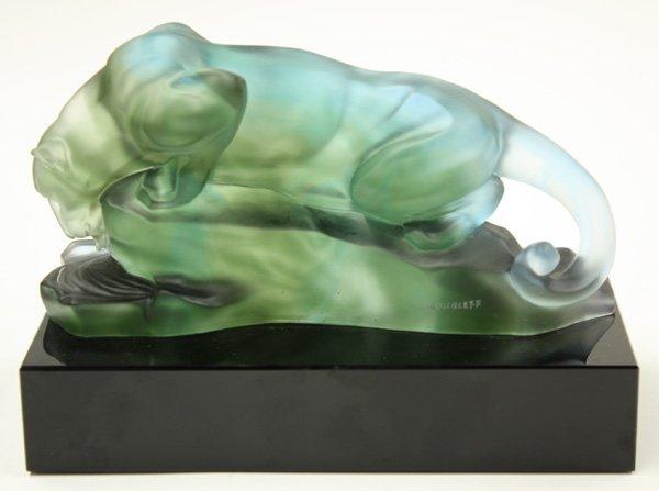 4011: Art Glass Sculpture