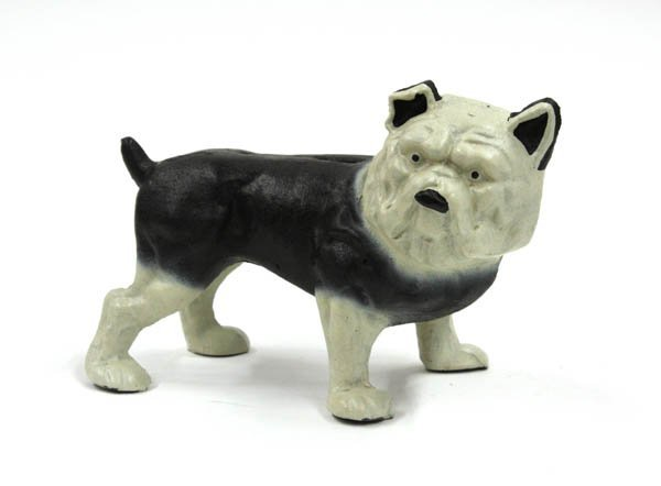 4021: Cast iron bulldog bank
