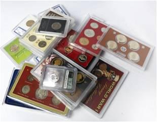 U.S. Souvenir Coin Sets.