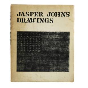 """Jasper Johns signed """"Drawings"""", Arts Council of Great"""