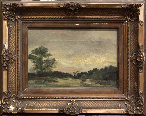 2000: Painting, Antoon Markus, Landscape at Dusk