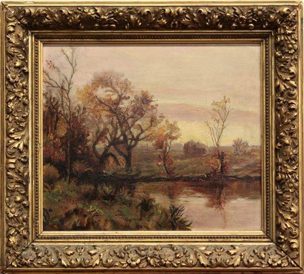 2004: Painting, Impressionist Landscape Study