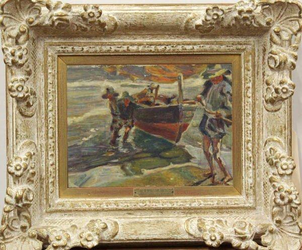 2005: Painting, Manner of Joachuin Sorolla Y Bastida