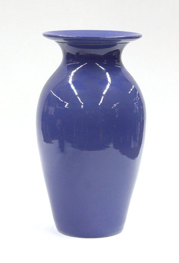 2021: Bauer Art Pottery floor vase