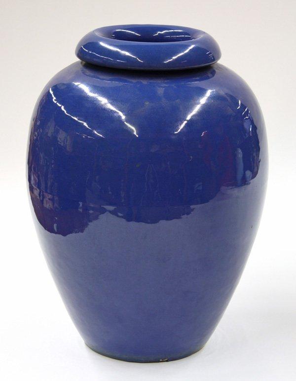 2022: Bauer indigo oil jar