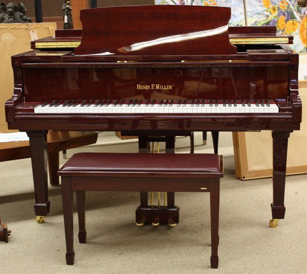 2083: Henry F. Miller Baby Grand Piano - 2
