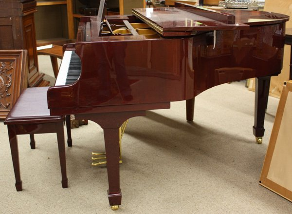 2083: Henry F. Miller Baby Grand Piano - 3