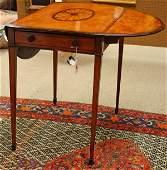 2320 George III mahogany pembroke table