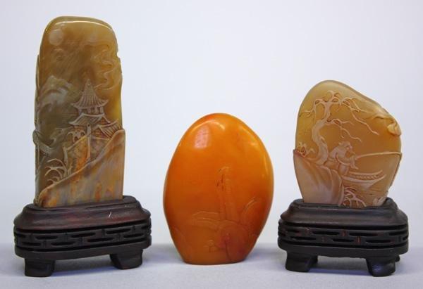 13: Chinese Miniature Boulder Seals