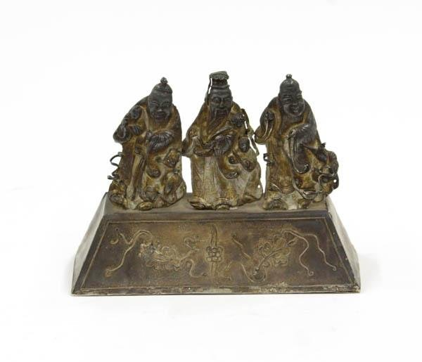 22: Chinese Metal Figuirines, Immortals