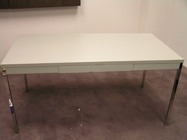 8001: Formica Top Library Table