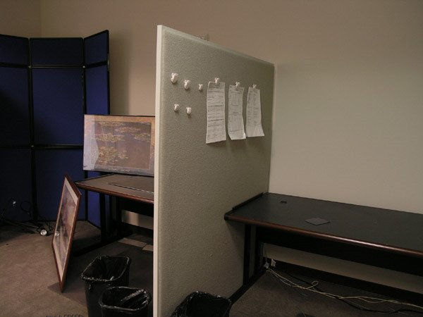 8021: 3 Panel Dividers, Cubicles