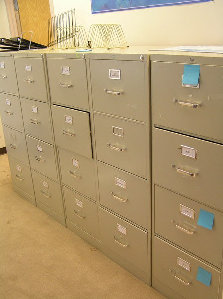 8281: Metal File Cabinets
