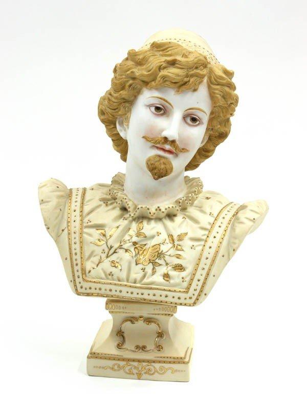 6001: Continental Porcelain Bust