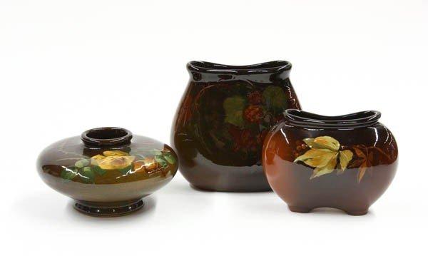 6007: Weller Louwelsa Art Pottery Vases