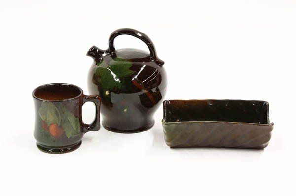 6008: Rookwood and Weller Art Pottery