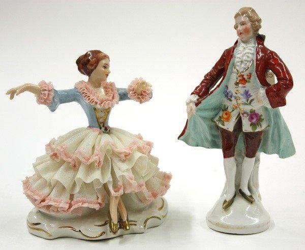 6016: German Porcelain Figurines