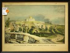 4418 Prints Currier  Ives Views of Washington DC