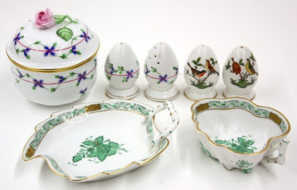 2012: Group of Herend porcelain