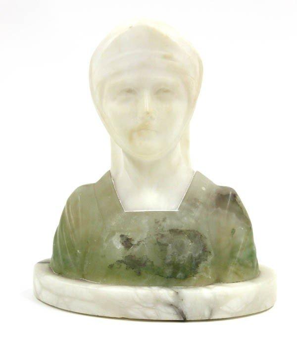 2017: Italian Marble Bust, Joan of Arc