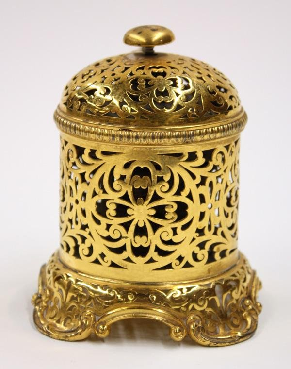 2019: Howard and Co. New York Silver gilt bell