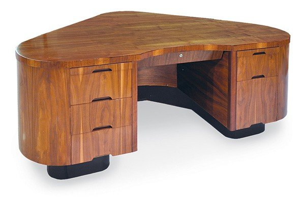 2093: Art Deco aviation desk