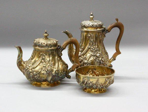 2603: London Sterling silver hollowware