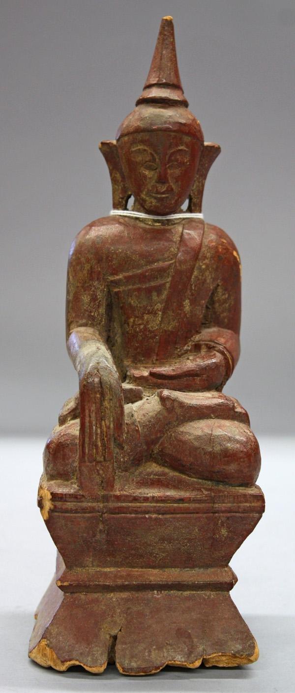 2: Shan State Wood Buddha