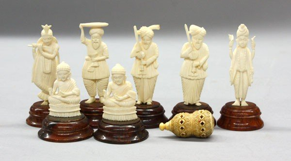 5: East Indian Ivory Carvings
