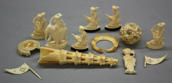 7: Asian Ivory Carvings