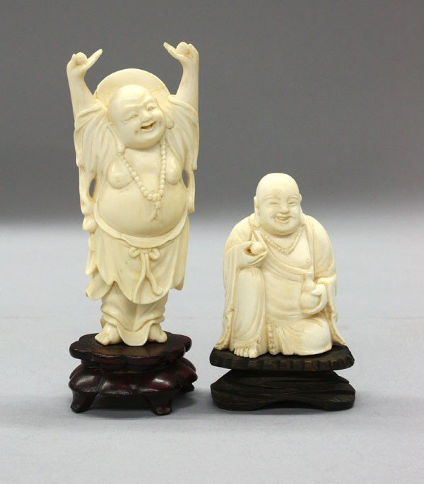 8: Chinese Ivory Carvings of Budai