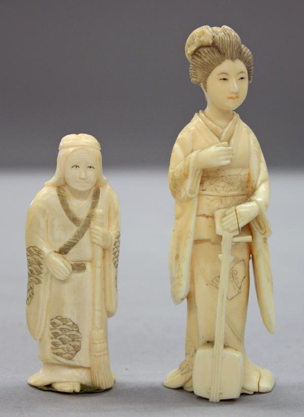 9: Japanese Ivory Okimono