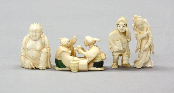 11: Japanese Ivory Okimono