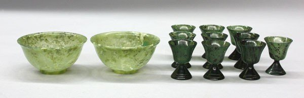 17: Chinese Hardstone Cups/Bowls