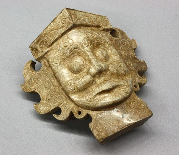 18: Chinese Hardstone Figural Carving