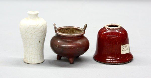 19: Chinese Miniature Porcelain Vessels