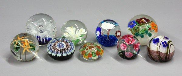 178: Art Glass Paperweights