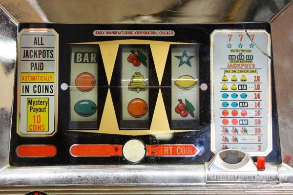 bally slot machine model numbers