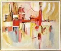 537: Painting, Florence Nesbit, Bright City