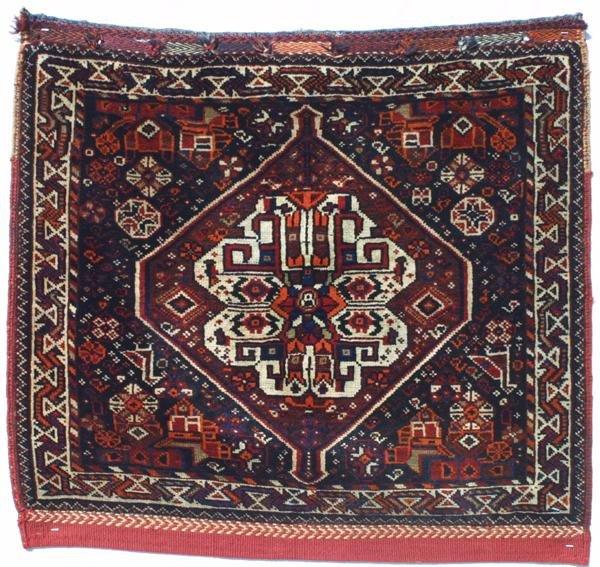 4: Khamseh bagface. Southwest Persia