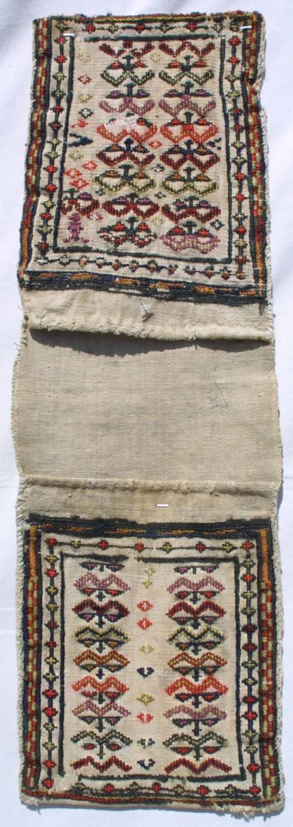 7: Two Shahsavan miniature children's bags