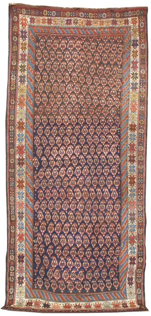 12: Luri long rug. Southwest Persia