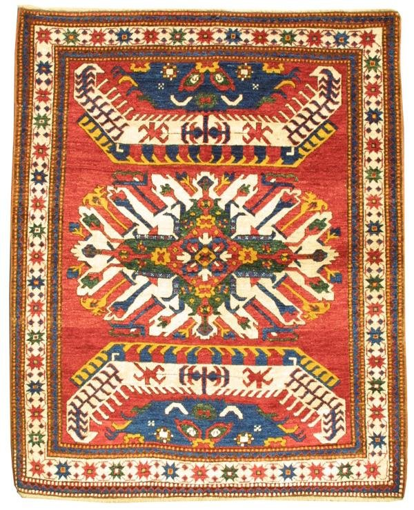 22: New Chelebard Kazak rug