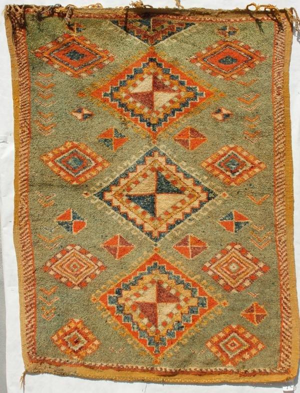204: Moroccan Berber carpet