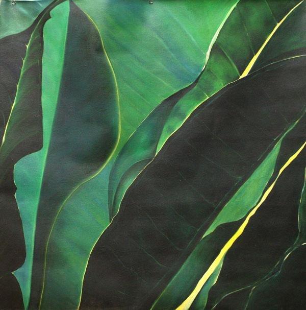 3003: Painting, Marlene McLoughlin, Green Leaves
