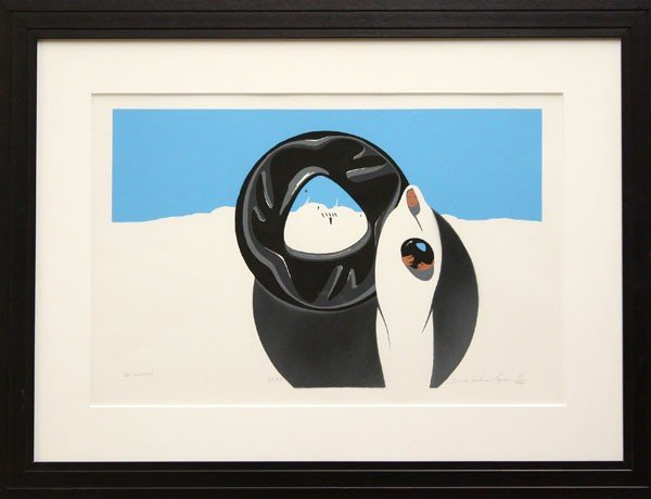 3018: Print, Connie Seabourn Ragan, Her Vessel