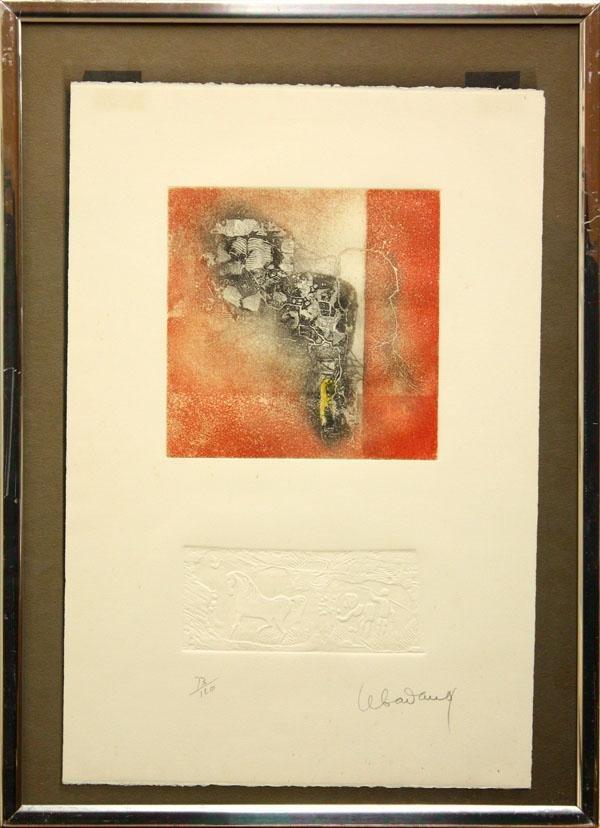 3021: Print, Lebadang, Abstract