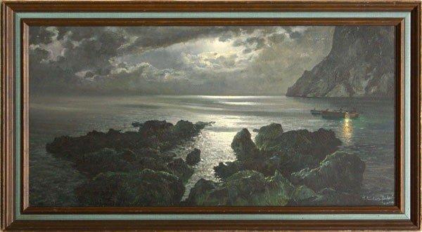 6280: painting, Salvatore Federico, Capri
