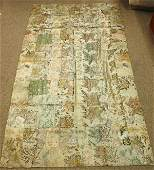 6711 Japanese Brocade Silk Kesa Edo Period